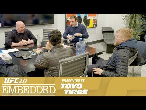 UFC 232 Embedded: Vlog Series - Episode 3