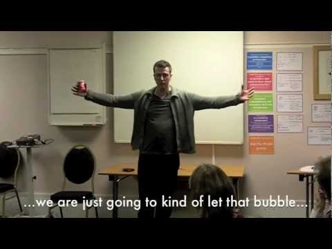 NLP Anchoring in Hypnosis Induction - Visual and Spatial Anchoring - The Bubble Induction