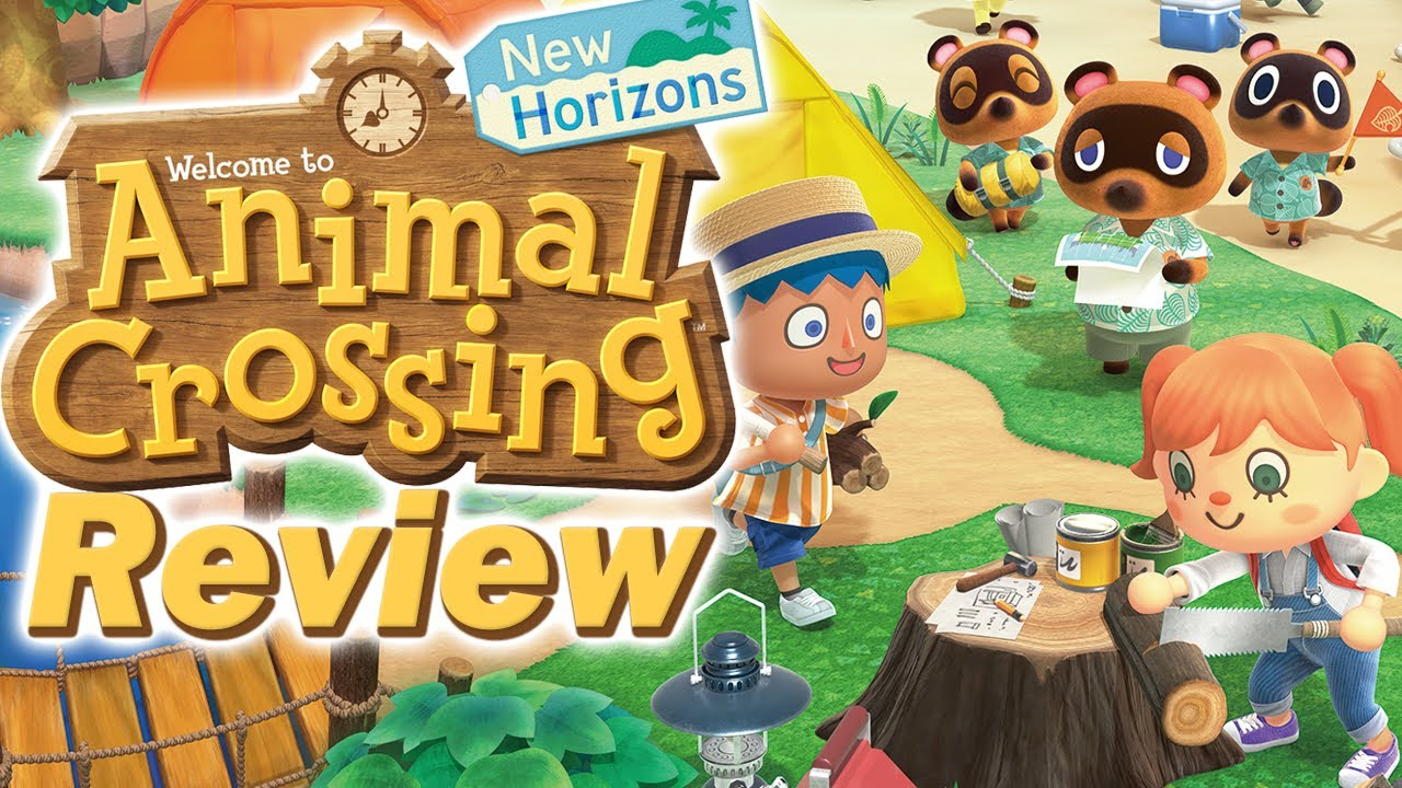 Animal Crossing New Horizons Review (Nintendo Switch) (Video Game Video Review)