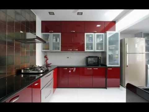 Stainless steel finish aluminium modular kitchen for Modular kitchen designs aluminium