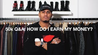 50K Q&A: How Do Earn My Money? What Is My Job?