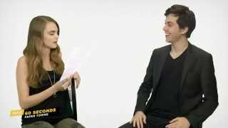 Max 60 Seconds with Paper Town's Nat Wolff (Cinemax)
