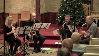 """""""Some Skunk Funk"""" Brecker Brothers performed by the Toronto Sax Quartet"""