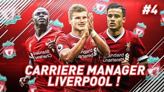 FIFA 18 : CARRIERE MANAGER l LIVERPOOL #4 l WERNER RÉGALE ET UNE RECRUE ARRIVE !