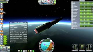 Kerbal Space Program (0.23) - SP6-1 - Apollo/Saturn V Part 1 (Realism Overhaul)