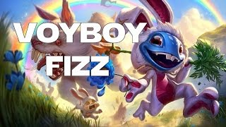 League of Legends - High ELO Commentary - Voyboy Cottontail Fizz