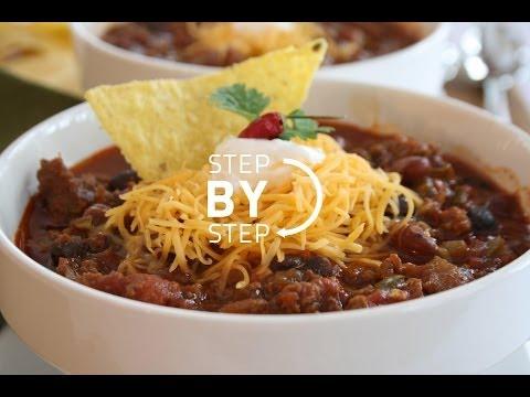Homemade Chili Recipe- Easy, Simple Beef Chili Recipe, How to Make Homemade Chili