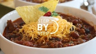 Homemade Chili Recipe- Easy, Simple Beef Chili Recipe, How To Make Homemade Chili