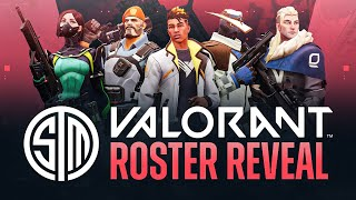 MEET THE BEST VALΟRANT TEAM IN THE WORLD: TSM WARDELL, Hazed, Cutler, Subroza, & drone!