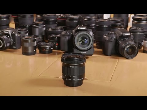 A Guide to Canon Lenses