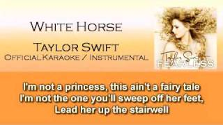 White Horse - Taylor Swift (Official Instrumental / Karaoke)