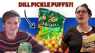Americans Try Russian Snacks For The First Time