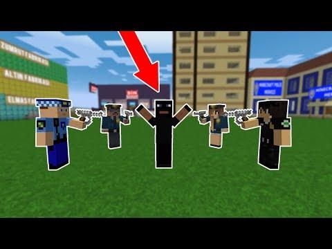 POLİSLER ZENGİNİN MARKETİNİ SOYAN HIRSIZI YAKALADI! 😱 - Minecraft
