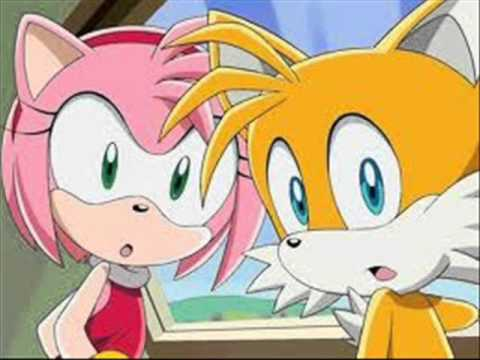 love story - amy and tails and sonic and sally - YouTube