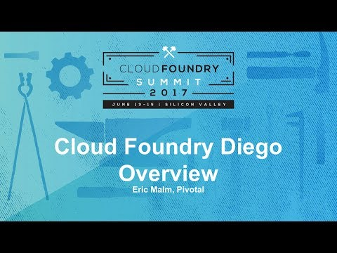 Cloud Foundry Diego Overview