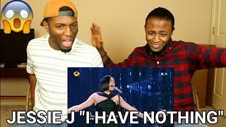 "Jessie J - I Have Nothing (Whitney Houston Cover) ""Singer 2018"" (REACTION)"