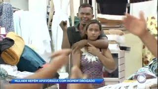 Drogado, homem faz mulher refém no Pará