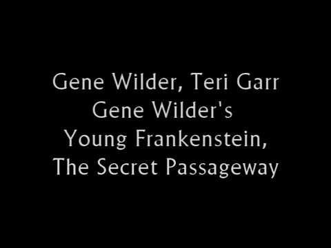 Gene Wilder, Terri Gar - Young Frankenstein - Secret Passageway