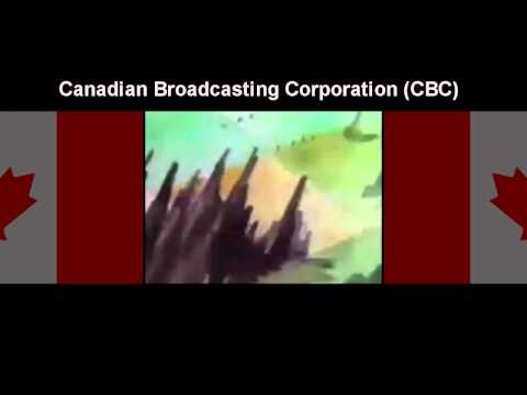 Good Night Canada: End of A Television Programming Day CBC (Animation)