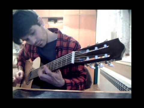 JOE SATRIANI -RUBINA (classic guitar cover Zeljko Donevski)