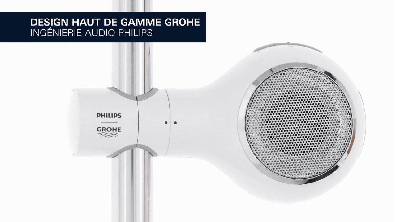 PHILIPS I GROHE Aquatunes – Musique en streaming via Bluetooth dans votre  salle de bains