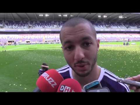 Vidéo   Sofiane Hanni   Il y a de très bons remplaçants à Anderlecht    La DH