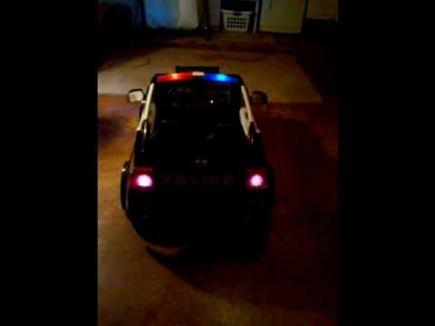 Modified Power wheels Dodge Charger Police Car  YouTube