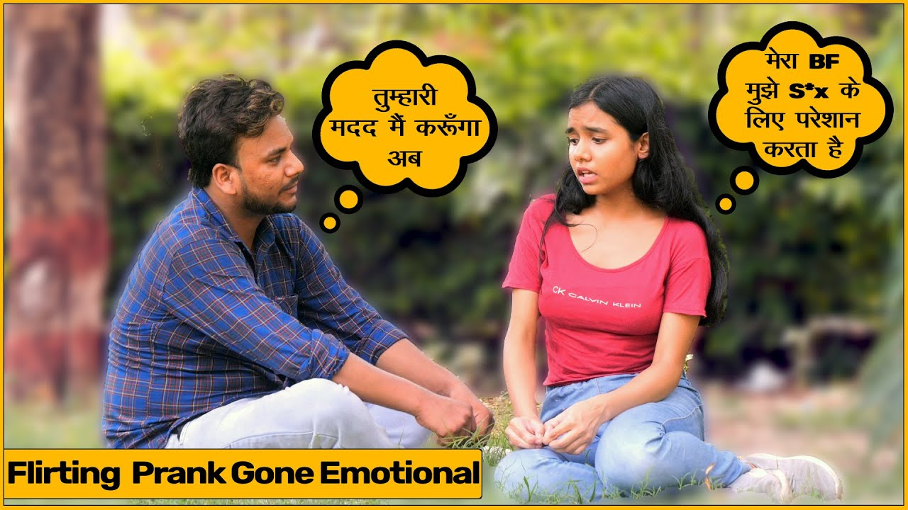 Flirting Prank With Girl  (Gone Emotiona) | Joker Ayan