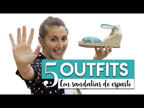 Con Combinar Tus Outfits De 5 Para Esparto Sandalias O8k0Pnw