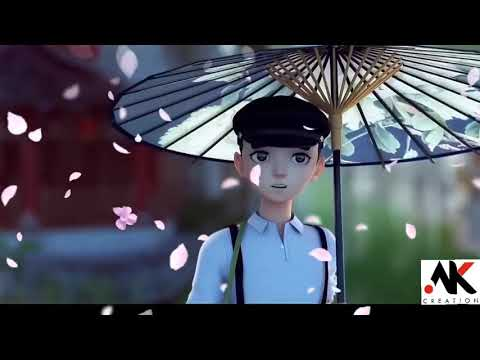 New Love Whatsapp Status 2018 | Mukhde Pe Dale Hue Julfonki Badli | Animated Status