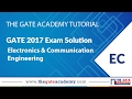 GATE 2017 Solutions | ECE | 5 - Feb morning Session | General Aptitude