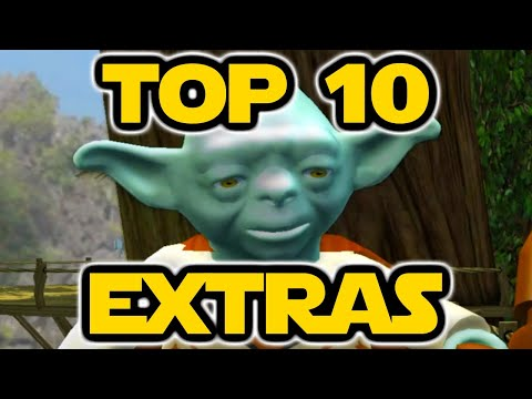 Top 10 Lego Star Wars Extras