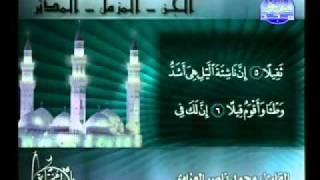 الشيخ محمد ناصر العزاوي سور الجن المزمل المدثر
