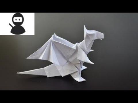 Origami: Dragon (Jo Nakashima) - Instructions in English (BR) New 2018