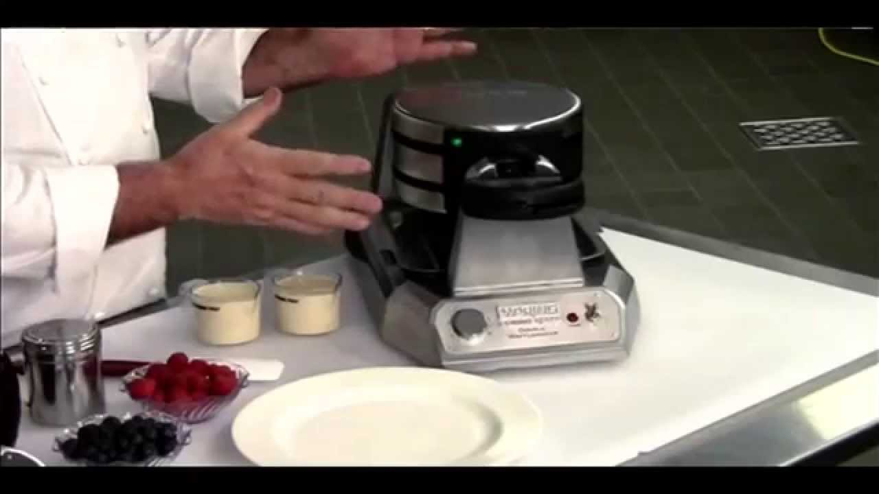 waring waffle maker demo from nisbets dm874 - Waring Pro Waffle Maker