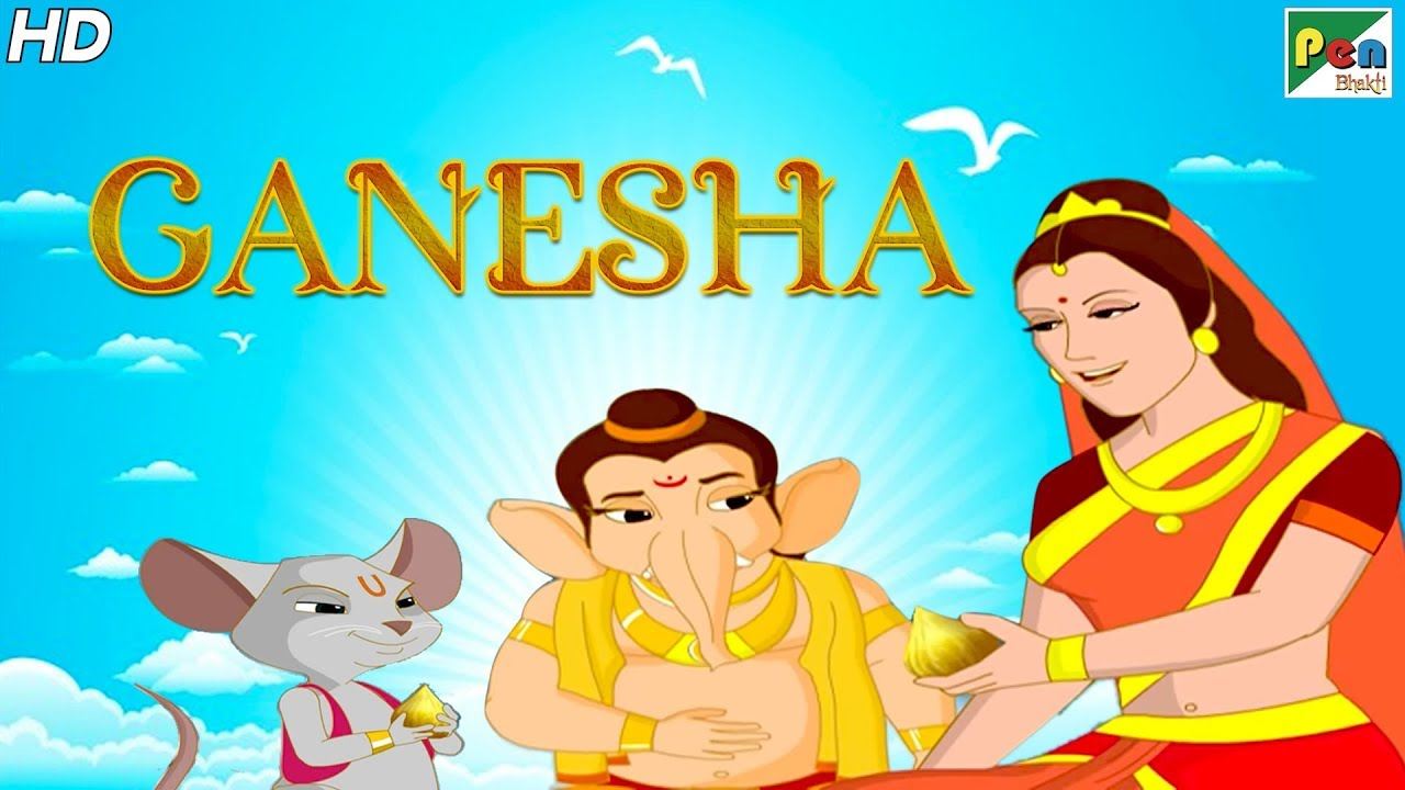 Ganesh Chaturthi Special 2019 | Ganesha Animated Movie - With English Subtitles | Pen Bhakti