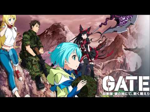 Gate : Jieitai Kanochi nite Kaku Tatakaeri OP Full