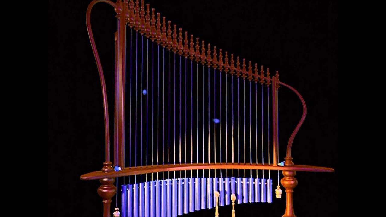 Animusic Aqua Harp HD bonus cam - YouTube
