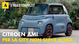 Citroen AMI | 5.430 euro! Super MINI per SMART cities con 75 km di autonomia. Senza patente.