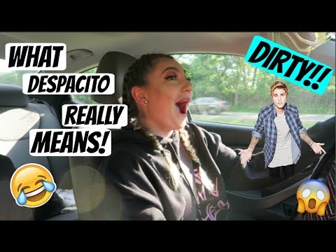 WHAT DESPACITO REALLY MEANS!!