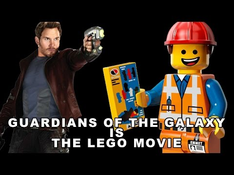 Theory: Guardians of the Galaxy is The Lego Movie