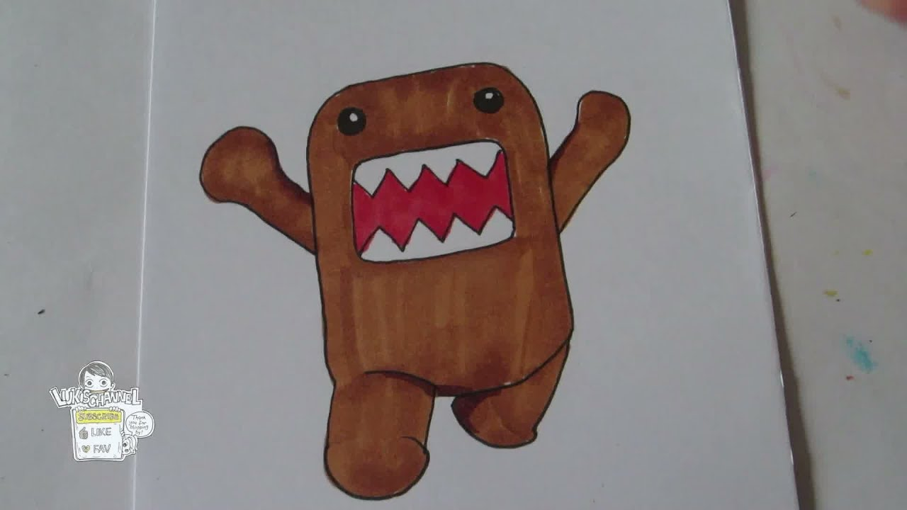 How To Draw Domo Kun