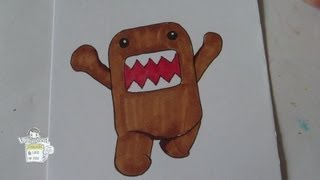How to draw Domo-kun どーも くん