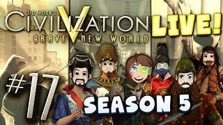 Civ 5 Live Part 17 - The Space Race