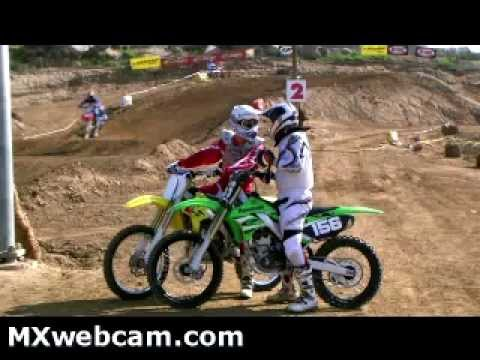 Kyle Engle & Others Riding At Perris Raceway MXwebcam.com