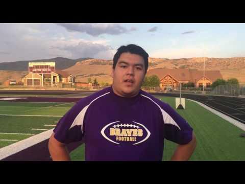 North Summit high school football 2017, Brian Rodriguez