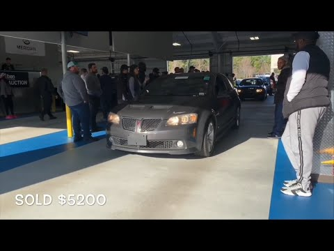 This Is How Much All Used PONTIAC Models Sell For At Auction! Cheap Pontiac Auction Deals!
