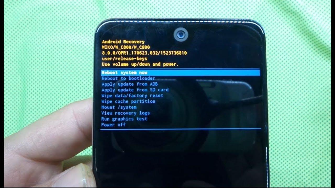 How To Hard Reset My Phone Wiko View 2 W C800 Hard Reset Youtube