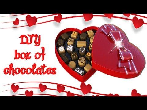 Diy heart box of Chocolates   Valentine's Day   - Ecobrisa DIY