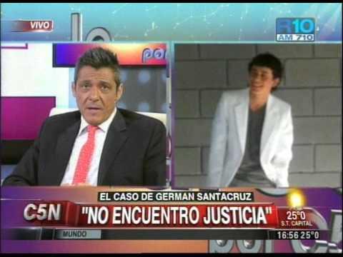 C5N - POLICIALES: EL CASO DE GERMAN SANTACRUZ